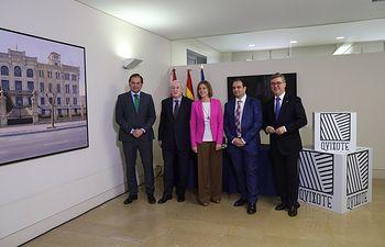Presidenta Cospedal firma con PROMECAL convenio Quijote_1. Foto: JCCM.