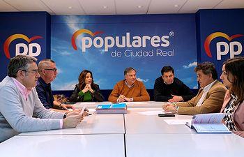 Reunión del Comité de Dirección del PP de Ciudad Real.