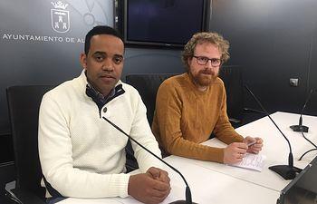 Héctor García y Álvaro Peñarrubia.
