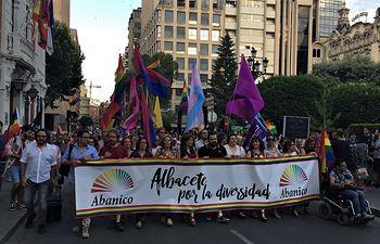 Manifestación Orgullo LGTBI Albacete.