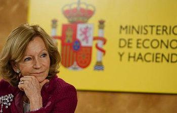 Elena Salgado. Foto: EFE