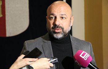 José García Molina, secretario regional de Podemos y vicepresidente segundo de Castilla-La Mancha.