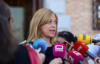 Carmen Picazo, portavoz del Grupo Parlamentario Ciudadanos en las Cortes regionales.