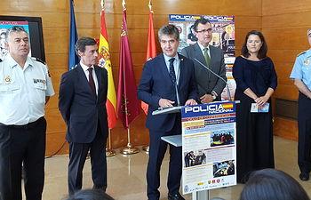 """El 1 de octubre tendrá lugar el acto central del """"Día de la Policía"""" en la Plaza del Cardenal Belluga, Murcia."""