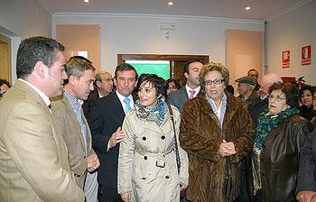 Isabel Rodríguez, inauguró ayer la nueva residencia de mayores de la localidad toledana de Cabezamesada