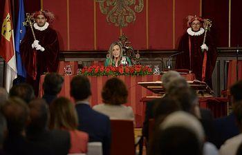 Investidura de Milagros Tolón como alcaldesa de Toledo.