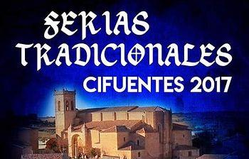 Cartel Ferias Tradicionales de Cifuentes