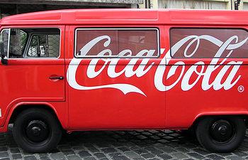 Imagen publicitaria de Coca Cola.