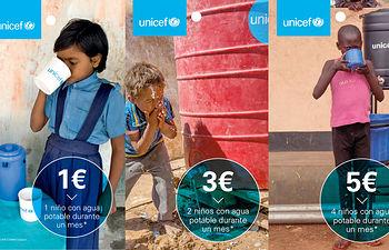 El Corte Inglés celebra el Día del Agua con tarjetas solidarias a beneficio de UNICEF