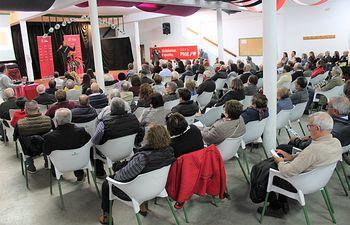 El PSOE de Cuenca ha celebrado un multitudinario encuentro comarcal en Santa Cruz de Moya.