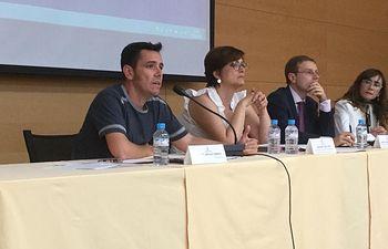 Alberto Sanchez interviniendo en el Consejo de RRLL