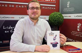 """Manuel Martínez, autor del libro \""""1978, la Constitución que puso ser\"""" y concejal del Grupo Municipal PSOE en el Ayuntamiento de Albacete"""