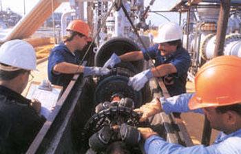 Trabajadores. Foto de archivo.
