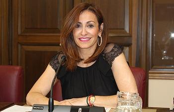 Rosa González de la Aleja, concejal del Grupo Municipal del Partido Popular en el Ayuntamiento de Albacete.