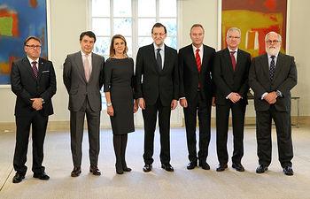 Cospedal es recibida por Mariano Rajoy2. Foto: JCCM.