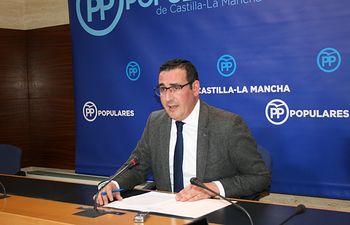 Manuel Borja, vicepresidente de la Federación de Municipios y Provincias de Castilla-La Mancha (FEMP-CLM), y coordinador provincial del PP de Ciudad Real. Foto: PP CLM.