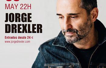 Cartel Jorge Drexler -Teatro Circo de Albacete.