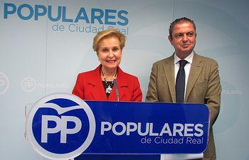 Carmen Quintanilla y José Alberto Martín-Toledano.