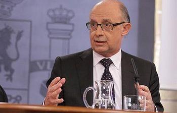 El ministro de Hacienda y Administraciones Públicas, Cristóbal Montoro. (Foto archivo)