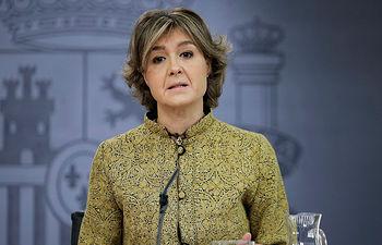 Isabel García Tejerina, ministra de Agricultura y Pesca, Alimentación y Medio Ambiente