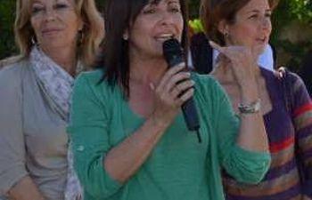 La alcaldesa de Albacete, carmen Oliver