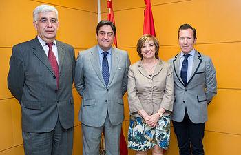 Echániz se reúne con los gerentes de Parla y Aranjuez para analizar el convenio sanitario en Toledo. Foto: JCCM.