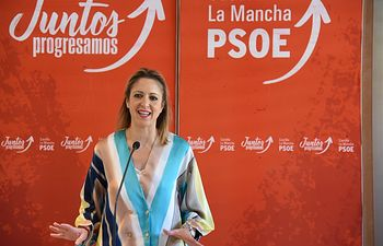 El secretario regional y presidente de Castilla-La Mancha, Emiliano García-Page, ha presidido el comité regional del PSOE celebrado en Toledo. FOTOS: PSOE. Foto: Jose Ramon Marquez//JCCMM