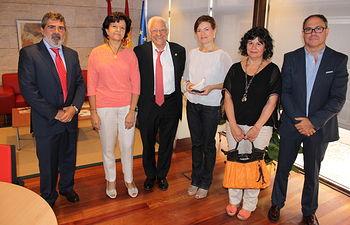Reunión con Mensajeros de la Paz. Foto: JCCM.