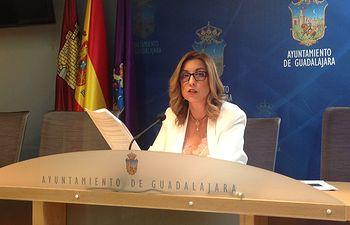 Encarnación Jiménez, concejal del PP en el Ayuntamiento de Guadalajara.