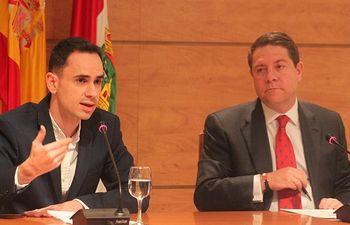 José García Salinas y Emiliano García-Page.