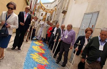 Fiesta del Corpus en Almonacid de Zorita.
