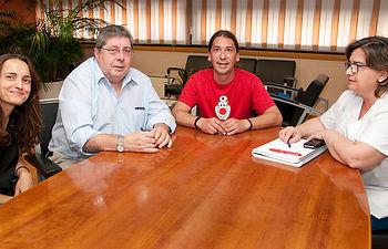 El Hospital Universitario de Guadalajara renueva su convenio de colaboración con 'Los Payapeutas'. Foto: JCCM.