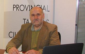 Manuel García, presidente de la Federación del Taxi en C-LM. Foto: gacetadeltaxi.com