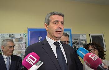 Álvaro Gutiérrez, presidente de la Diputación de Toledo.