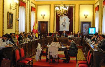 Pleno Ayuntamiento de Guadalajara.