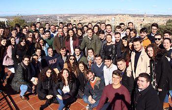 Clausura de la Conferencia de Presidentes Autonómicos de Nuevas Generaciones que se ha celebrado en Toledo