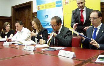 EDAR Soria. Foto: Ministerio de Agricultura, Alimentación y Medio Ambiente