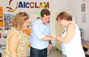Visita del presidente de la Junta de Comunidades, Emiliano García-Page en la Feria 2015, y de su participación en diferentes actos institucionales desarrollados en Albacete en la última semana