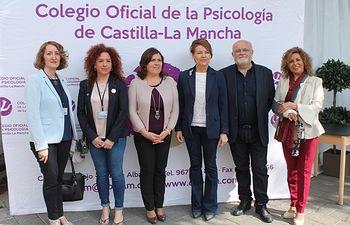 La consejera de Bienestar Social ha visitado la II Feria de Piscología de Albacete