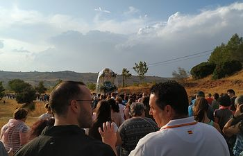 La Virgen de Cortes llega a Alcaraz.