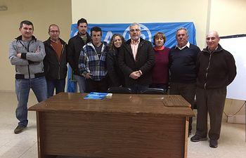 Reunión de afiliados del PP de Puebla de Don Rodrigo