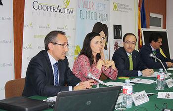 Inauguración de la Jornada (Vva. de los Infantes 27 de mayo 2015). Foto: Cooperativas Agro-alimentarias.