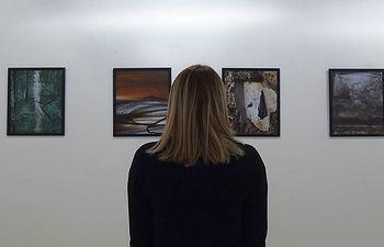 """Exposición """"Cuenca abstracta"""" del autor Luis del castillo, en el centro cultural Aguirre (Cuenca, España)"""