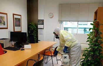 Coronavirus- Limpieza y Desinfección Residencia San Vicente de Paul (Albacete).