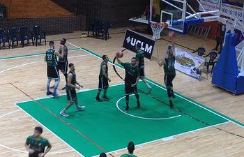 Albacete Basket en pabellón del parque