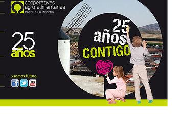 Aniversario 25 años. Foto: Cooperativas Agro-alimentarias.