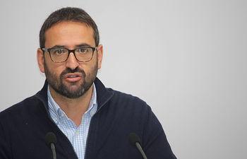 Sergio Gutiérrez, secretario de Organización del PSOE de Castilla-La Mancha.