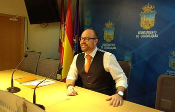 Alejandro Ruiz, portavoz de Cs en Guadalajara.