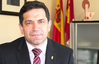 Miguel Ángel Valverde alcalde de Bolaños de Calatrava.