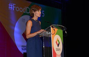 García Tejerina Food Drink Summit. Foto: Ministerio de Agricultura, Alimentación y Medio Ambiente
